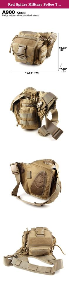 Red Spider Military Police Tactical Backpack Molle Concealable Carry Bulletproof Option-Khaki. Product Description: Our most popular Tactical Shoulder Strap Bag is the Red Spider Push pack. Fully adjustable, padded, and ergonomic shoulder strap for comfortable carrying;Front pocket for quick access; interior pocket for convenient, separated storage; concealed back pocket with zipper closure. Specification: Item Type: Push Pack Usage: Daily, Military, Hiking Gender: Unisex Closure Type:...