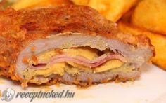 Labanc vagy kuruc pecsenye recept fotóval Meat Recipes, Lasagna, Sandwiches, Pork, Food And Drink, Ethnic Recipes, Desserts, Drinks, Beef Recipes