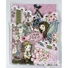 Heartfelt Creations - Darlings With Love Foldout Project