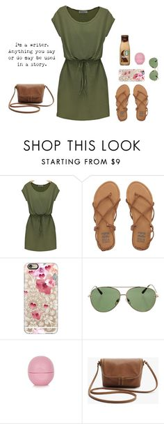 """""""Untitled #97"""" by holiness-is-thenewhot ❤ liked on Polyvore featuring Billabong, Casetify, Valentino and Topshop"""