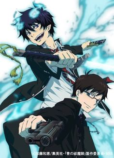 Yukio Okumura & Rin Okumura - Ao no Exorcist / Blue Exorcist Ao No Exorcist, Blue Exorcist Anime, Blue Exorcist Cosplay, I Love Anime, Awesome Anime, Anime Guys, Rin Okumura, Manga Anime, Anime Art