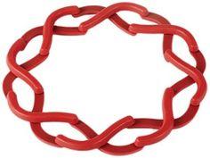 Umbra Expanda Trivet, Red