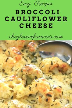 Broccoli and cauliflour floretss smothered in a cheesy white bechamel sauce then baked. #bechamelsauce #broccolicheesecasserole #cauliflowercheese Side Dishes For Salmon, Side Dishes For Bbq, Dinner Side Dishes, Vegetable Side Dishes, Vegetable Recipes, Best Vegetarian Recipes, Healthy Recipes, Vegetarian Meals, Healthy Meals