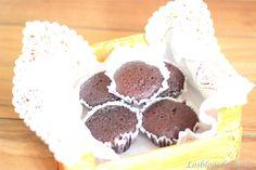 Buenísimas magdalenas de chocolate en el horno solar