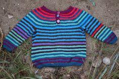 Hos Anna-ananas: Garnreste-sweater