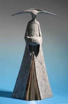 Archive : Winter on the Veneto : Sculptor Philip Jackson Asian Sculptures, Gothic Garden, Land Art, Sculpture Art, Art Dolls, Sculpting, Fantasy Art, Cool Art, Art Drawings