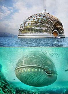 Floating Hotel 水上ホテル