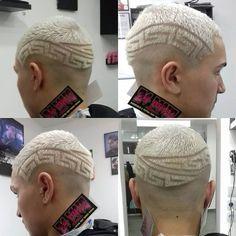 Barbeiro Natanael (@barbeiro_natanael_portugal) • Instagram photos and videos Hair Art, Men's Hair, High And Tight, Mens Hair Trends, High Fade, Bald Fade, Faux Hawk, Bowl Cut, Comb Over