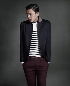 Yoo Ah-in for JACK's FW 2013 Campaign