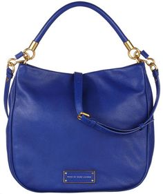 "Marc by Marc Jacobs - Damen Handtasche ""Too Hot To Handle Hobo "" #fashion #trends #engelhorn #blue"