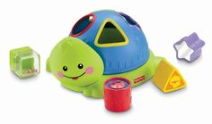 Fisher-Price Friendly Firsts Turtle Shape Sorter  - Click image twice for more info - see a larger  of  baby shape sorter toys   at  http://zbabybaby.com/category/baby-categories/baby-and-toddler-toys/baby-shape-sorter-toys/ - gift ideas, baby , baby shower gift ideas, toy   « zBabyBaby.com