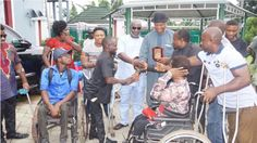 Ateke Tom Receives Award From Niger Delta Disabled Persons (Photos)