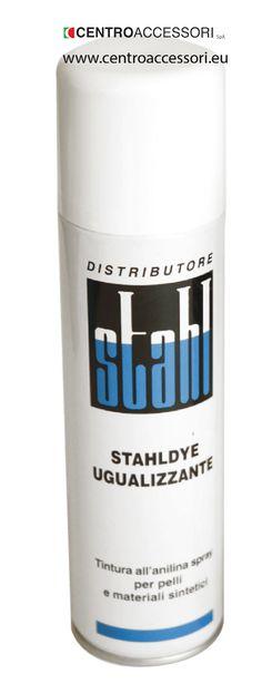 Colorante spray Stahldye. Color-leveling spray Stahldye. #CentroAccessori