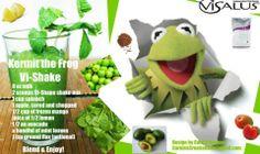 Kermit the Frog Shake #Project10 #Fitness #weightloss #Healthy #Vi #BodyByVi #Motivation #Workout #ZLoescher #MLM #Successful #Entrepreneur #PersonalTrainer #ProteinShake #shake