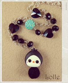Clay Flurry Penguin by LolleBijoux.deviantart.com on @deviantART