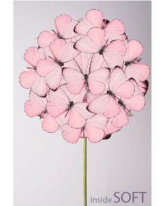 Come un lollypop alla fragola 🍥🍭🍬 #lollypop #pink #pinkmood #flower #butterfly #collage #artist #artwork #work #fashion #mood #style #vogue #talent #love