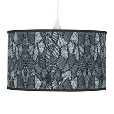 Dark Grey Mosaic Glass Hanging Lamp - decor diy cyo customize home Cool Lights For Bedroom, Ceiling Hooks, Linen Lamp Shades, Incandescent Light Bulb, Diy Hanging, Awesome Bedrooms, Rice Paper, Mosaic Glass, Pendant Lamp