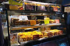 Manneken Waffle Shop in Ginza Tokyo Japan