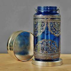 Malte Einmachglas Laterne böhmische Patio Tisch Dekor von LITdecor