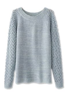 Open-Knit Sweaters - Choies from #InStyle