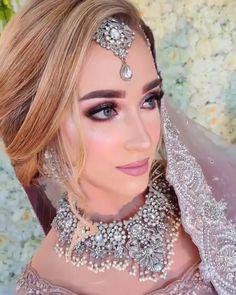 Pakistani Makeup Looks, Pakistani Bridal Makeup, Pakistani Wedding Outfits, Bridal Lehenga, Bridal Makeup Videos, Bridal Makeup Looks, Bridal Beauty, Bridal Looks, Sherwani For Men Wedding