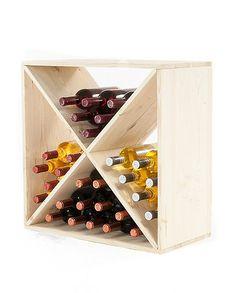 Regał na wino RW-6-4 60x60x30 - Seria RW-6 - Regały na wino Wine Rack, Home Decor, Wine Racks, Decoration Home, Room Decor, Home Interior Design, Home Decoration, Interior Design