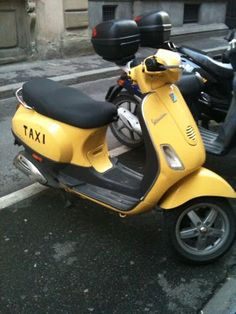 Florence's smallest taxi