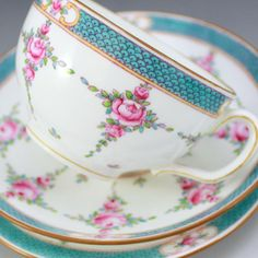 Minton china. The beautiful star line. Persian rose