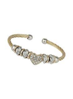 Dorothy Perkins Bracelet jonc à perles et rose scintillante | Femmes - Bijoux - Bracelets