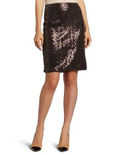 Anne Klein Women's Sequin Skirt Anne Klein. $58.56. 89% Nylon 11% Metallic - Lining 100% Polyester. Made in Vietnam. Back zipper. Allover sparkles create a party-ready look in Anne Klein's Sequin skirt.. Hand Wash