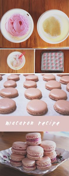 "Another pinner says, ""My own easy to make macaron recipe!!!"" Awesome!!! :) <3"