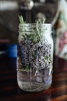 This Lavender All-Purpose Cleaner packs the excellent cleaning and deodorizing power of vinegar as well as the fragrant and antibacterial and antiviral cleaning powers of lavender.