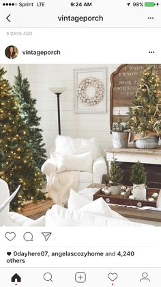 Farmhouse 1 Instagram Happy Sunday Christmas Stuff Merry Things Background Love