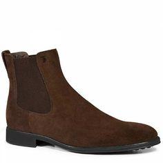 Prezzi e Sconti: #Tod's chelsea boots aus veloursleder Braun  ad Euro 450.00 in #Tods #Schuhe schuhe