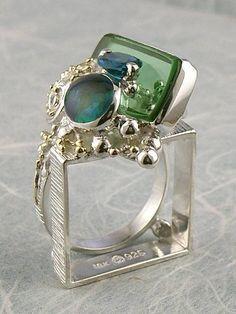 Grzegorz Pyra Piro Biżuteria Autorska Unikatowa Pierścień Nr. 3894