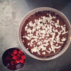 Cardamom + Sea Salt Chocolate Ganache Tart - I Quit Sugar