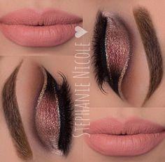 Double cut Crease  #EyeShadows #Makeup#Tips  ♥