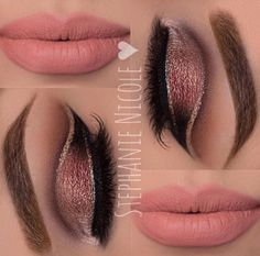 Double cut Crease  #EyeShadows #Makeup#Tips  ♥