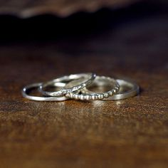 And I'll be getting these to go along with my ring. So, so cute. Then my wedding ring with have some sparklies. :)