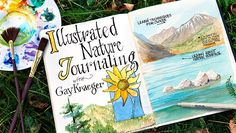 Nature can be intimidating, but drawing it doesn't have to be! Learn to capture the beauty of the outdoors with fun pen and watercolor techniques.