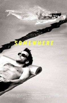 Somewhere, Sofia Coppola movie poster by