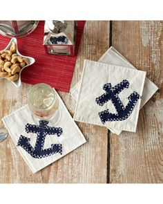 Oh and these #anchor coasters would really round out my #BHGSummer tabletop.