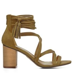 XOXO Women's Elle Dress Sandals (Olive) - 10.0 M