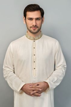 Amir Adnan New Fashionable Kurta 2015 For Men (6)