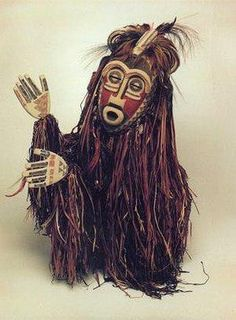 """African mask created especially for episode 314 of The Muppet Show, in which they perform the song """"Turn the World Around"""" with Harry Belafonte Tribal Images, Tribal Art, African Masks, African Art, African Dolls, Tribal Warrior, Mask Images, The Muppet Show, Spirited Art"""