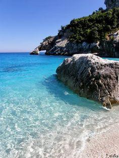 Italy Sardinia Baunei Cala Goloritze