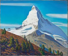 The Matterhorn, 1965. Rockwell Kent (1882-1971)