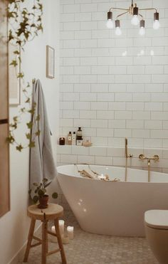 Stylish BATHROOM Design Ideas and Decoration Images for 2019 Part bathroom decor; Bathroom Styling, Bathroom Interior Design, Piece A Vivre, Bathroom Inspiration, Bathroom Ideas, Cosy Bathroom, Small Bathroom, Beautiful Bathrooms, House Rooms