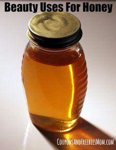 Beauty Uses For Honey! Think you know all the ways to use honey? Think again! Save money with honey! :) Check out these easy DIY budget saving beauty uses for honey!