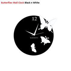 Beautiful Upcycled Vinyl Record Wall Clocks